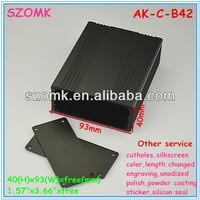 OEM Custom Extruded Aluminum Electronic Enclosure