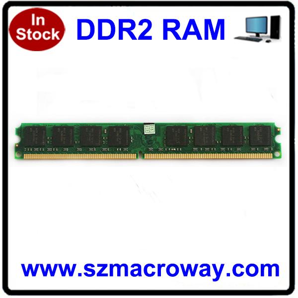 Fabrika online test ram orijinal Amd Ddr2 2 gb memoria 800