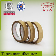 Water activated kraft paper fiberglass adhesive tape