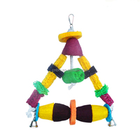 Natural and Clean Colorful Bird Toys Imported From China
