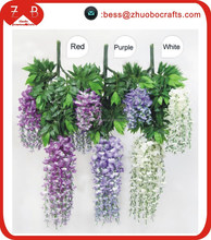 wholesale simulation Wisteria artificial flowers making for wedding ,
