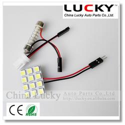 LED car reading lamp PCB 12 SMD 5050 Auto interior dome light