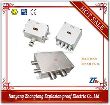 EJX Series explosion proof 3phase aluminum die cast junction box for e , DIP