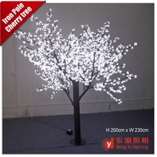 outdoor led tree lights white cherry blossom tree for wedding decoration