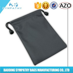 2015 cheap price cotton drawstring bags with logo printed