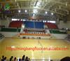 Vinyl wood basketball court sports flooring