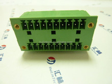 3.5mm male plug-in connector electrical PCB terminal blocks
