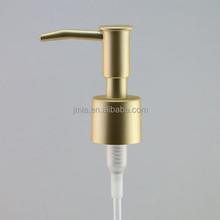 cream pump 24/410,matt gold lotion pump bottle