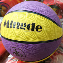 Durable top sell brilliant rubber basketball