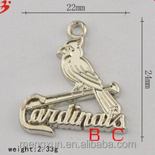 Europe and the United States Christmas gifts St Louis cardinals logo pendant