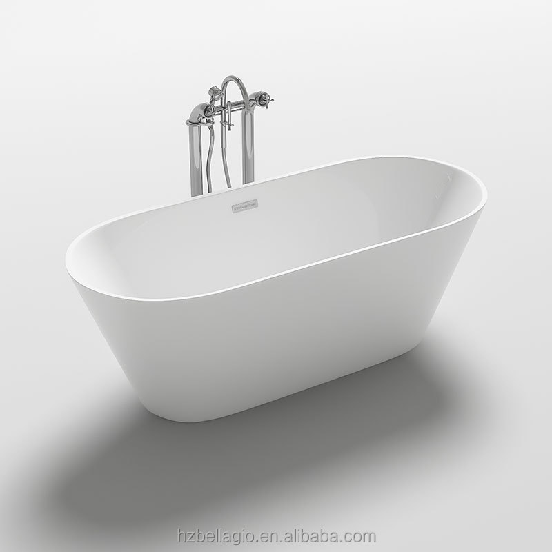 Acrylic freestanding bathtub mini tub soaking tub buy for Acrylic soaker tub