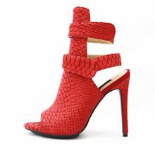 Xg004 modelo coreano de la sandalia mujeres sandalia de cuero