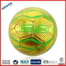 1.6 mm Metallic PVC mini soccer balls wholesale