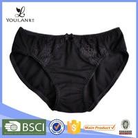 Hot Design Latest Fashion Lovely Girl Polyester/Cotton Underwear For Women Sexy