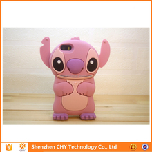 3d stitch silicone tpu soft rubber skin mobile phone case cover for Samsung galaxy s4 mini i9190