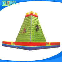 Manufacturer supply inflatable climbing wall,indoor climbing toys