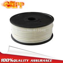 APP Cheap New 3D Printer supplies Filament 1kg 3D Printer ABS Filament 3mm White Plastic Rubber Consumables Material