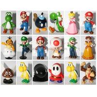 "DIHAO 1-3"" Super Mario Bros Figure Toy Doll Pvc Figure Collectors/ custom OEM figure/custom pvc toy figure"