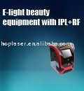 E-light+ipl +rf beauty apparatus for hair removal redness.age spot.freckle .speckle elimination