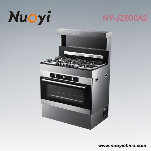 Electric Kitchen Appliances : kitchen Appliance 4 gas + 2 electric cooking range stove with electric ...