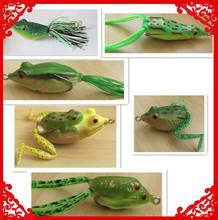 Plastic Fishing Frog Lures