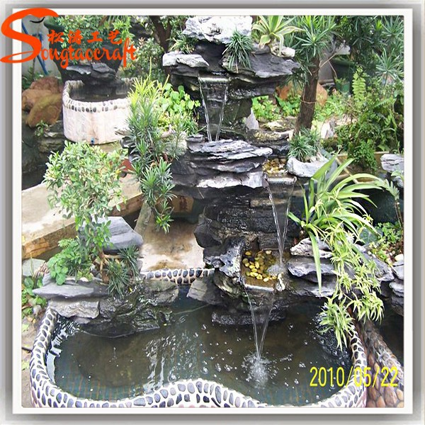 Chinese fiberglass indoor fountains and glass waterfalls - Fuentes de agua para jardin exterior ...
