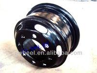 20 inch black rims with chrome lip