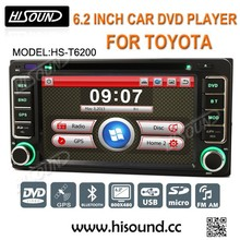 6.2inch bluetooth gps car dvd for toyota land cruiser 200