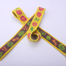 Factory price custom print fold over elastic