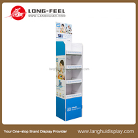 Retail attractive mobile phone display rack/floor display stand
