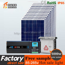 1KW 3KW 5KW Off-Grid Solar Power System/Home Solar Panel Kit 3000W 5000W 10KW Sun Battery For House Solar Systems For House