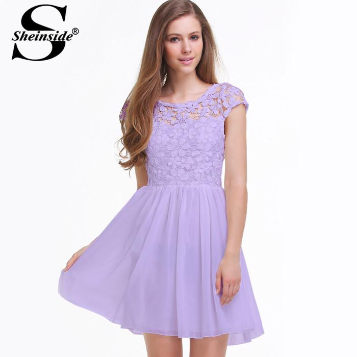 Женское платье Sheinside dress140714108