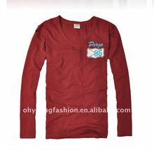 wholesale cheap clothes free brand name white plain v neck long shirts for men