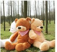 2015 hot sale cute big size teddy bear doll/big plush bear/ stuffed soft toy the best birthday gift