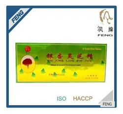natural energy drink-Ginkgo Biloba and Ling Zhi Oral Liquid