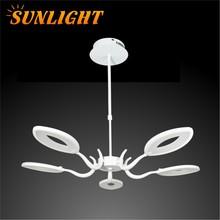 2015 New Modern Designed suspended Pendant LED Lamp Large Hotel Chandelier
