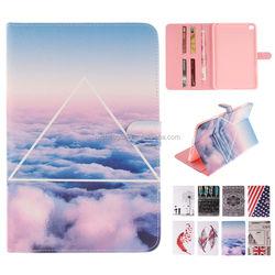 Case for iPad mini 4, Cartoon Printing Leather Case Folio Stand Cover for iPad Mini 4