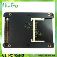 """High Speed Dual CF to 2.5"""" IDE HDD Case 44 pin IDE Converter"""