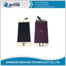Wholesale price lcd display for iphone 5 ,touch screen digitizer for iphone 5