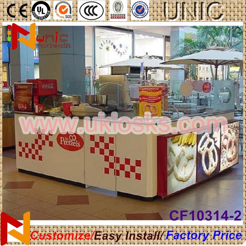 2014 shopping mall food kiosk indoor food kiosk design for Indoor food kiosk design