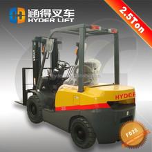 2014 popular inlet engine best sale 2500kg diesel forklift and drum clamp