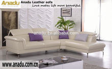 round sofa furniture leather