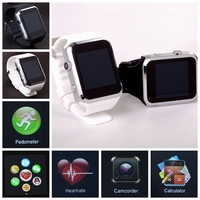 Bluetooth smart watch/the unique design bluetooth smart watch with pedometer reminder function