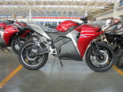 3000w electric motorcycle/electric sports bike/5000w sporty motorcycle with litihium battery