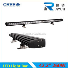 New arrival led light bar 240W/180W led work lights outdoor/24pcs*10W colors high power Newest!!!one Row 10W Beam Light bar