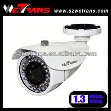 Wetrans ONVIF 2.0 impermeabile ip camera 1.3mp telecamera a circuito chiuso con scheda di memoria