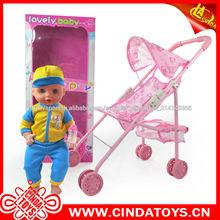 Niño y niña de juguetes, juguetes de mesa de niña de la muñeca con sonido
