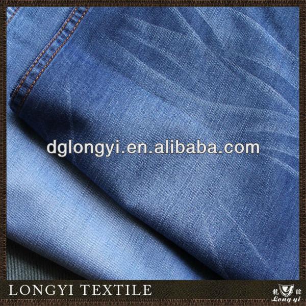 2014 China moda algodão tecido denim para calças de brim dos homens