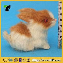unstuffed interactive novelty make fur life size animal replica easter bunny