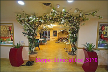 2015 new style cherry tree good looking artificial Wedding Flower Arch